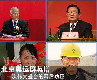 北京奥运之路十:奥运群英谱