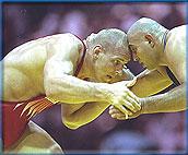 卡列林:奥运摔跤场上的巨汉