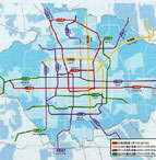 北京城市轨道交通网规划图