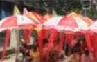 武汉600对新人结婚祝福奥运
