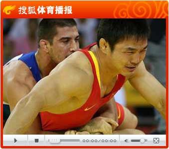 视频:马三义被抱摔丢铜牌 男子古典式84公斤级