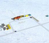 我国首个南极内陆科考站效果图