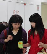 母亲也来助威 最爱女主播 2009上海车展