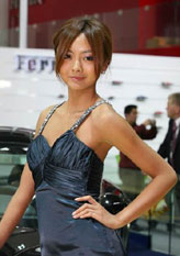2009上海车展 车模