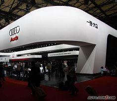 2009上海车展奥迪展台