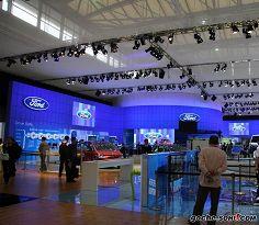 2009上海车展福特展台