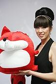2009上海车展 全明星十佳车模 吉利 涂丽丽