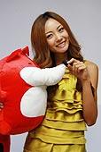 2009上海车展 全明星冠军车模 玛莎拉蒂 李婷超