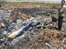 客机坠毁现场地点