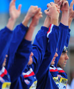 菲尔普斯,查维奇,游泳,jaked泳衣,2009罗马游泳世锦赛,罗马游泳世锦赛,世锦赛,花样游泳