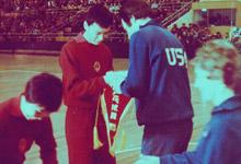 中美乒乓球队互访