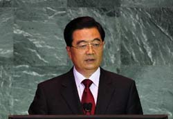 胡锦涛出席四大峰会