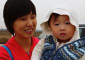 妈妈与超可爱的小宝宝
