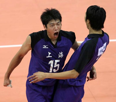 上海3-0江苏晋级决赛