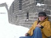 车友雪中自驾游万里长城
