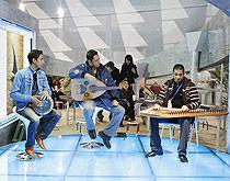 埃及展台活动表演开场