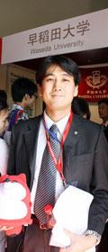 搜狐出国专访日本早稻田大学上海事务所代表久野仁树