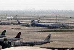 浦东机场坠机起飞跑道