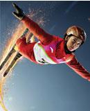 空中技巧运动员李妮娜