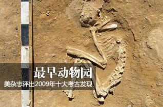 美《考古学》杂志评出2009年十大考古发现