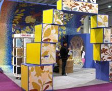 广州国际设计周,五彩花瓷展厅