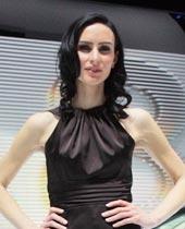 美女车模,北美车展