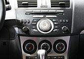 进口Mazda3两厢中控台