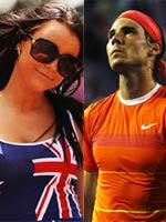 纳达尔,十佳图,澳网,美女,球迷