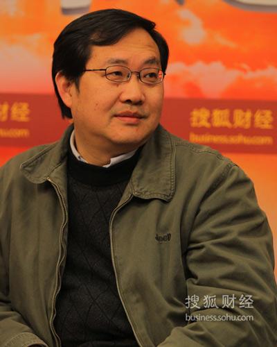 国务院发展研究中心农村经济研究部研究员刘守英(摄影:李琳琳)