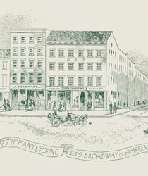 Tiffany位于百老汇的创始精品店