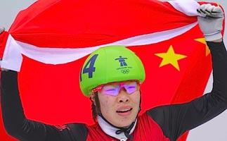 短道速滑1500米决赛 周洋孤军奋战最终夺冠