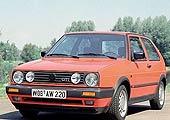 第二代高尔夫GTI(1984―1990)