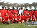 中国队合影