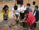 广西建设职业技术学院项目团队进行社会实践
