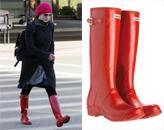 广州鞋展,第九届中国(广州)国际鞋展,Hunter雨靴,服饰搭配