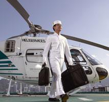香港半岛酒店,香港半岛酒店直升飞机服务