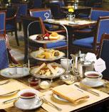 香港半岛酒店,餐厅精致的下午茶