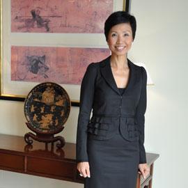 香港半岛酒店总经理陈娜嘉