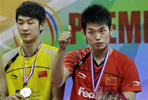 林丹首夺亚锦赛男单冠军