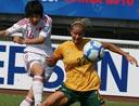 张睿完美弧线破门 中国1-0澳大利亚小组第1晋级