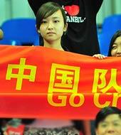 美女,世乒赛,2010世乒赛团体赛