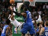 魔兽盖帽重伤隆多倒地不起 NBA魔术VS凯尔特人