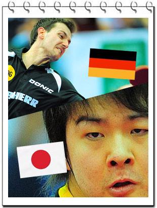 2010世乒赛,岸川圣也,波尔