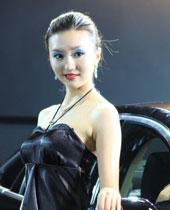 2010重庆车展美女模特