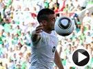 杰扎尔手球吃红牌离场 阿尔及利亚VS斯洛文尼亚