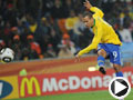 巴西-路易斯-法比亚诺(9号)破门得分