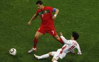 南非世界杯,葡萄牙VS朝鲜