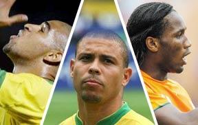 阿德,罗纳尔多,德罗巴,南非世界杯