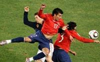 南非世界杯,智利VS西班牙