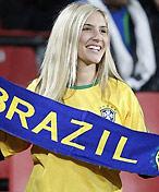 巴西队美女球迷